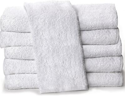 Set asciugamani di spugna da 6 pezzi bianco di puro cotone fornitura albergo b b hotel agriturismo - Completo bagno renato balestra prezzi ...